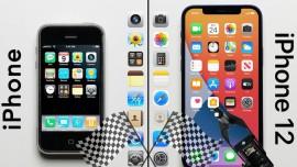 iPhone 12 nhanh hơn bao nhiêu so với iPhone đời đầu?